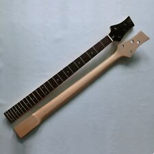 24 fret rosewood fingerboard 2+2 tuner holes 4 string Canadian maple bass neck