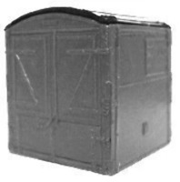 Cambrian C31 OO Gauge 'A' Type Wagon Furniture Container Kit