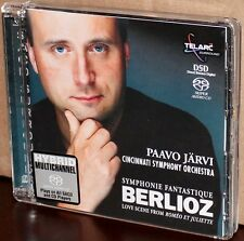 TELARC SACD: Berlioz Symphonie Fantastique, Love Scene Romeo & Juliette - JARVI