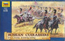 Zvezda Napoleonic Wars Russian Cuirassiers Cavalry 1812-1814 1/72 Scale