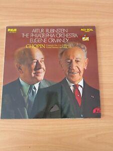 Vinyl Record - Artur Rubinstein The Philadelphia Orchestra - Chopin