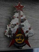 HARD ROCK CAFE PIN AMSTERDAM 2006 - CHRSITMAS TREE WITH ORNAMENTS