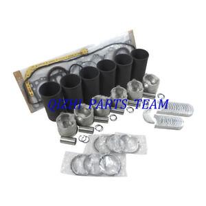 Fit KOBELCO SK260-8/SK330-8/SK350-8 HINO JO8E J08ET Engine Overhaul Rebuild Kit