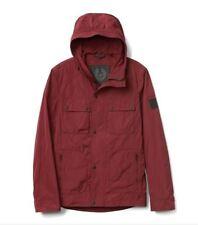 Belstaff Ravenswood Hood Rain Jacket Size Medium 48 Men's  Motorcycle