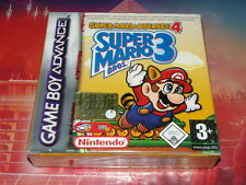 jeu gba gameboy neuf super mario advance 4 bros 3 sous blister officiel