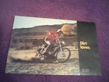1971 Honda Motosport SL- 125/ 125cc   motorcycle sales brochure (Reprint) $7.50