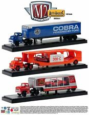 M2 Auto Set of 3 Haulers FORD Series 5 1/64 Diecast Car New