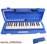 Promotion /  Woodnote Brand - 37 Key Beautiful Blue Melodica & Hard Shell Case