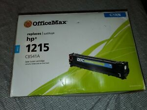 OfficeMax - Replaces HP 1215 CB541A Compatible Laser Toner Cartridge CYan (H)