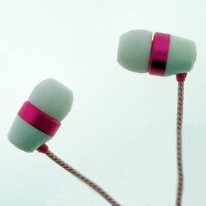 Skullcandy Paul Frank Riot 11mm Earbuds in White and Pink Brand New