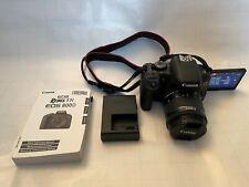 Shutter only 3k! Canon EOS Rebel T7i 800D 24.2 MP Digital SLR Camera