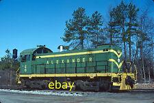Kodak Original Slide  Alco  S-3  Alexander Railroad  ARC #6  Southern  SOU  NS