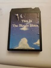 The Moody Blues: This Is The Moody Blues Part One 8 Track Tape 1974