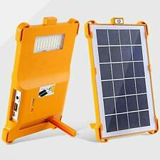 Solar Powered Lamps 4500mAh USB Charging Lights Solar Portable Emergency Lights