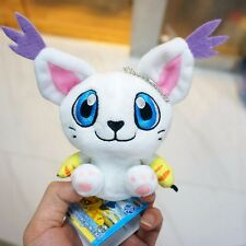 "4"" Digital Monster Digimon Adventure Mascot Vol.2 Tailmon Mini Plush Keychain"