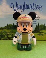 "DISNEY VINYLMATION - 3"" Set Park 11 California Adventure Topper Mickey With Hat"