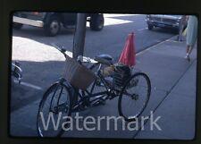 1968 kodachrome Photo slide dog on three wheel bicycle