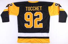 Rick Tocchet Signed Pittsburgh Penguins Jersey (Beckett COA) Career  1984–2002 5fb0e7fa3