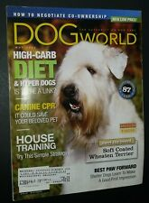 Dogs World Illustrated Magazine Soft-Coated Wheaten Terrier Cover May 2002