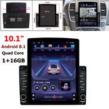 "1DIN 10.1"" Android 8.1 HD Quad-core 1GB+16GB USB Car Stereo Radio GPS MP5 Player"