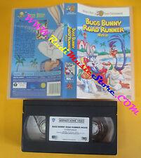 VHS film BUGS BUNNY ROAD RUNNER MOVIE 1999 animazione WARNER SCUDI(F142*) no dvd