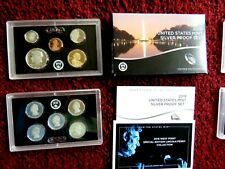 2019-s U.S. SILVER 10 coin Proof Set. Original as minted by U.S. Mint