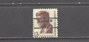 FLORIDA Precancel: 13-cent John F. Kennedy Definitive (# 1287)