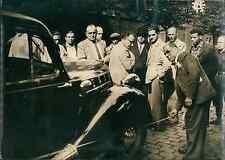 Paris, agression d'un taxi rue de Crimée Vintage silver print,le chauffeu