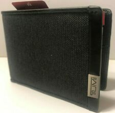 Tumi Alpha SLG Double Billfold Wallet Anthracite/Black 103536-6618 New in Box