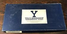 Yaleopoly Yale University monopoly board game (vintage, 1991) Incomplete/Damaged