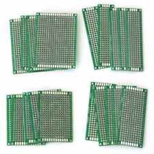 20Stk Lochraster Doppelseitig Leiterplatte Platine Prototyp PCB Universal 4Größe