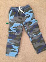 Boden Mini Boys Zip Off techno Trousers Camouflage BNWT