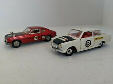Dinky Toys Lot 213 & 212 Ford Capri and Ford Cortina Rally Vintage Original