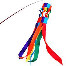 Anley 40 Inch Rainbow Windsock-Gay Pride LGBT Parade Flag Column 3.3 Ft