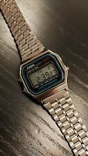 Casio (593) Alarm Chrono WR Classic Vintage 1980's Digital Watch Mint Condition