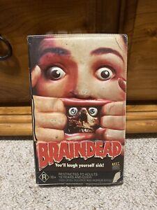 Braindead (Peter Jackson, 1992 Splatter) original Aussie VHS with 2-D cover