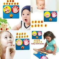 Montessori Finger Numbers Math Toy Children Counting Aids Teaching I4J5 Z5T2