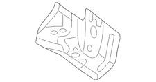 🔥 NEW Genuine Audi Center Floor Pan Reinforcement 8K0802894A