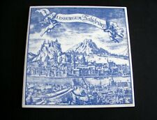 Vintage Collectible Boizenburg Ceramic Tile Trivet Made in GDR East Germany