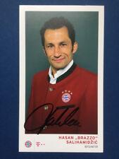 AK Bayern München 2016/2017 Hasan Salihamidzic > original signiert !! 16/17