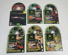Xbox Original Magazine Demo bundle and Not For Resale Mechassault