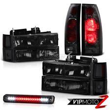CHEVY PickUp Truck Smoke LED Third Brake Tail Light Smoke Black Headlights Lamps