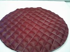 Peterbilt  fuel tank covers set of 2 Quilted  OXEN MARON  size 23""