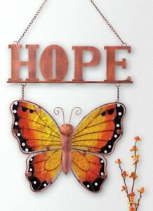 Hope Butterfly Hanging Wall Decor.