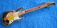 TIJUANA MEXICAN THICK ENAMEL BLACK WHITE FENDER STRATOCASTER Hard Rock Cafe PIN