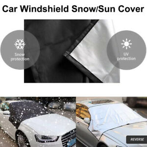 For Nissan Windshield Snow Shade Winter Frost Ice Freeze Dust Proof Huge L Size