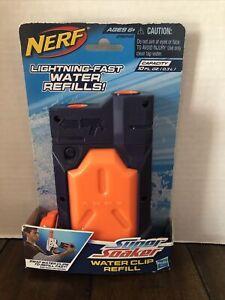 Nerf Super Soaker Water Clip Refill No 29248 Ages 6+ Capacity 10 FL OZ Fast A