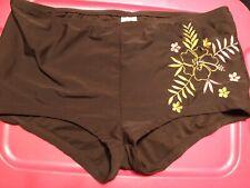 faded glory 2XL(18W-20W) hawaiian swim trunks bikini bottom so unique very sexy