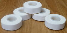 12 Rollen Sporttape 10 m x 2,5 cm weiß Tape Bandage