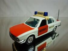 GAMA 1149 BMW 528i -E28 - NOTARZT - AMBULANCE -  WHITE 1:43 - GOOD CONDITION